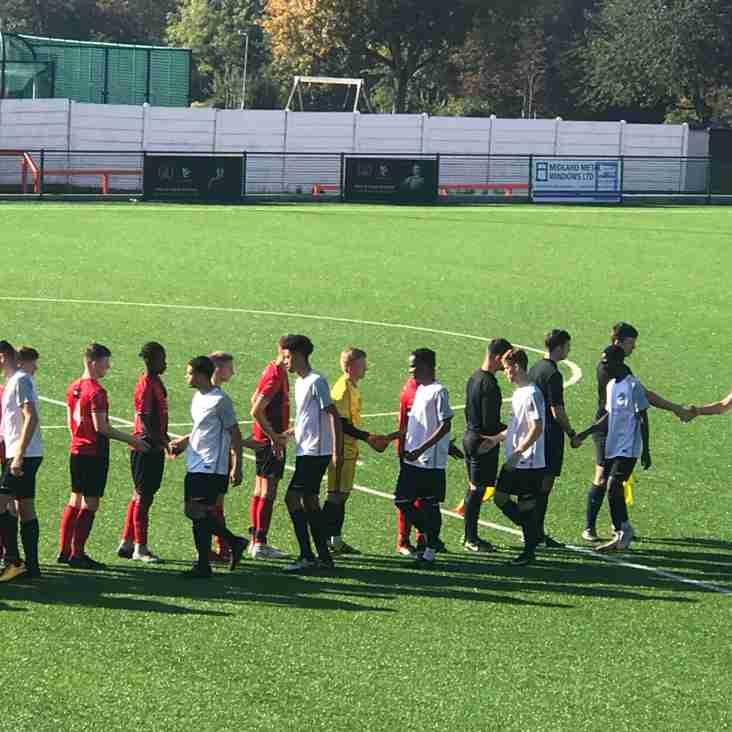 Eastwood CFC U19's vs Norwich City U19's