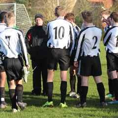 Woodbridge U16s 5 v Trimley U16s 1