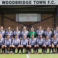 WOODBRIDGE TOWN 5 TEAM BURY 1 (HT 3-1)