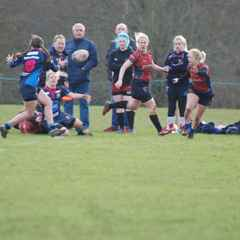 Gazelles vs East London Ninjas.  4th round, RFU Women's National Cup competition