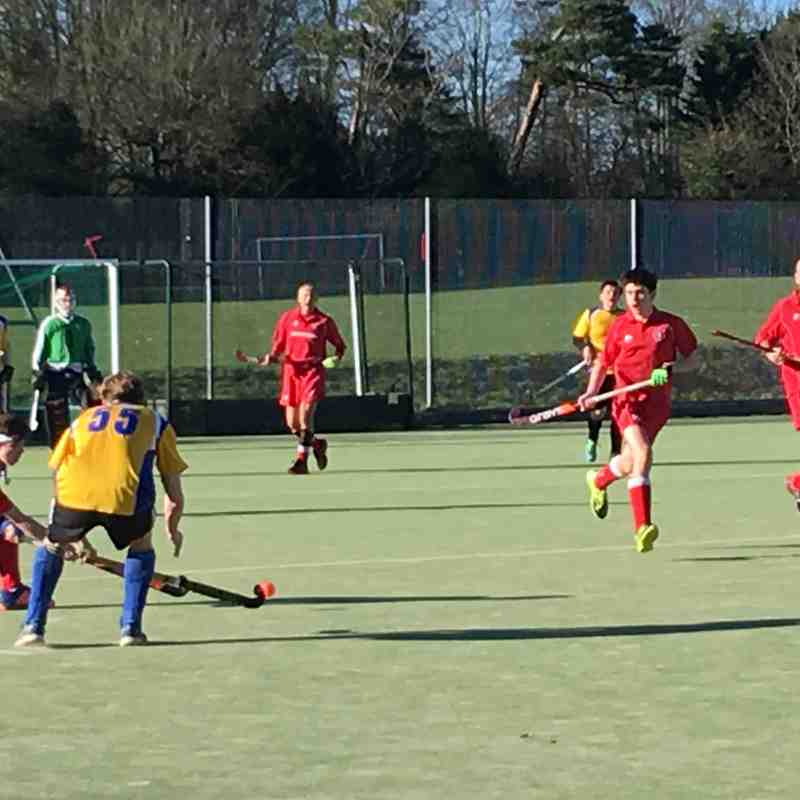 Mens 4s v Gerrards Cross 25th March 2017
