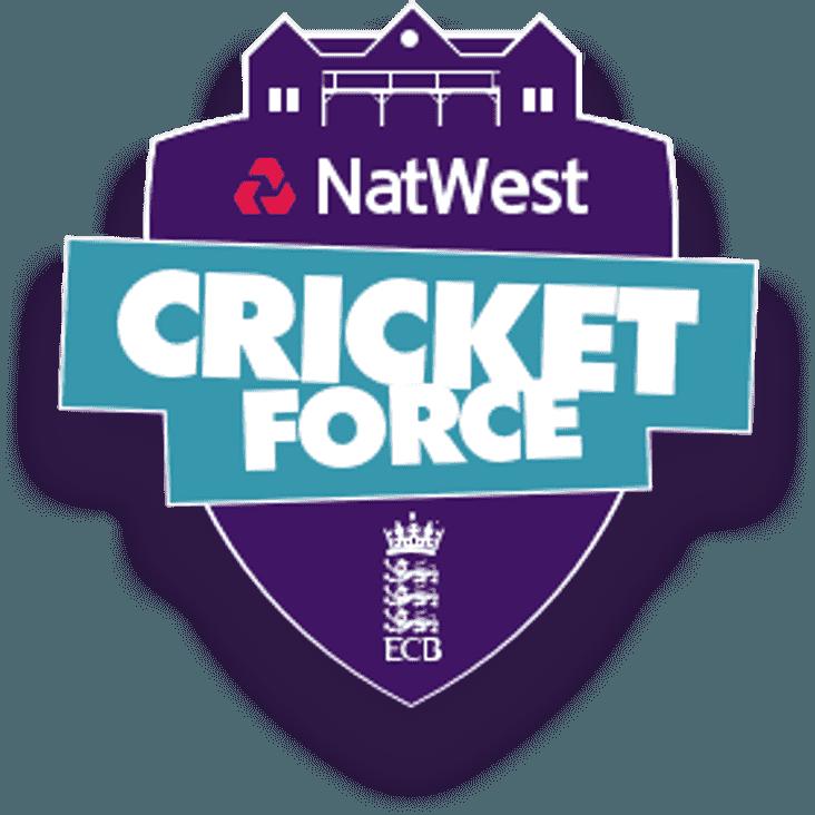 Natwest CricketForce This Weekend!