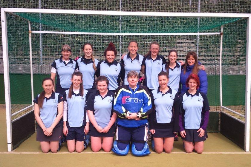 Ladies 1's beat Southwick Ladies 1's 8 - 1