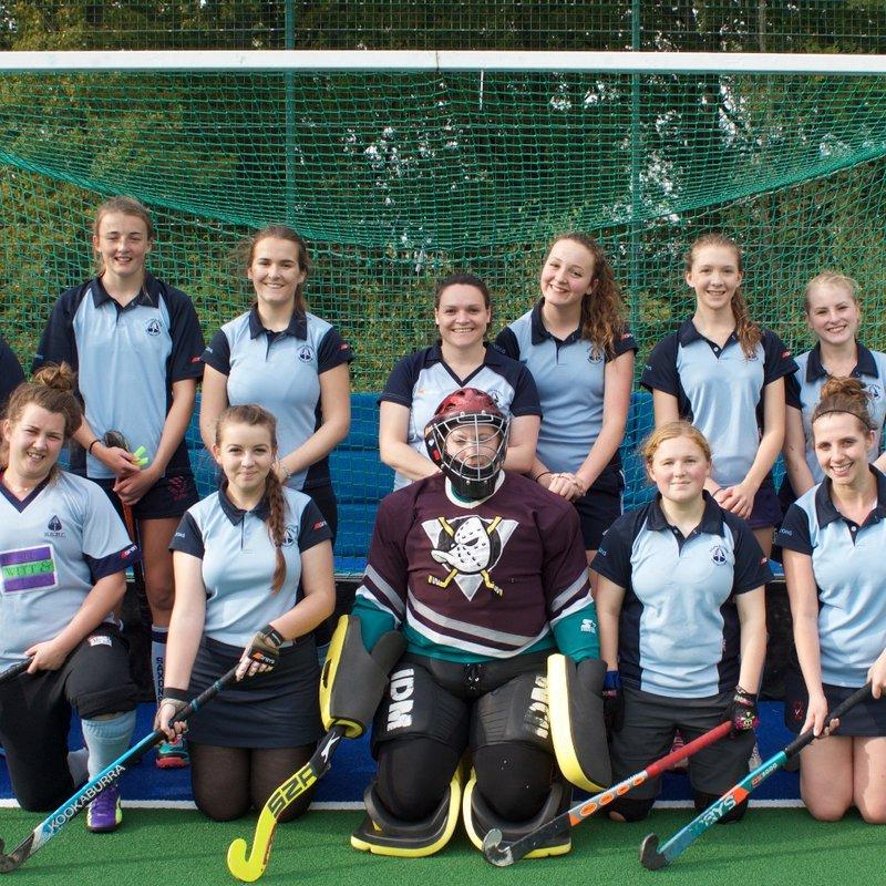 Ladies 2's beat Crowborough Ladies 2's 4 - 0