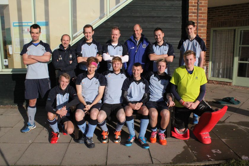 Men's 2's lose to Eastbourne Men's 2s 3 - 1