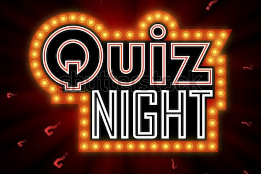 Quiz Night - This Saturday 24th November 2018!
