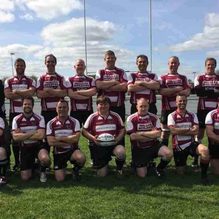 Taunton Vets win 58-12 against Welly
