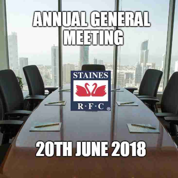 Annual General Meeting Agenda and Proxy form