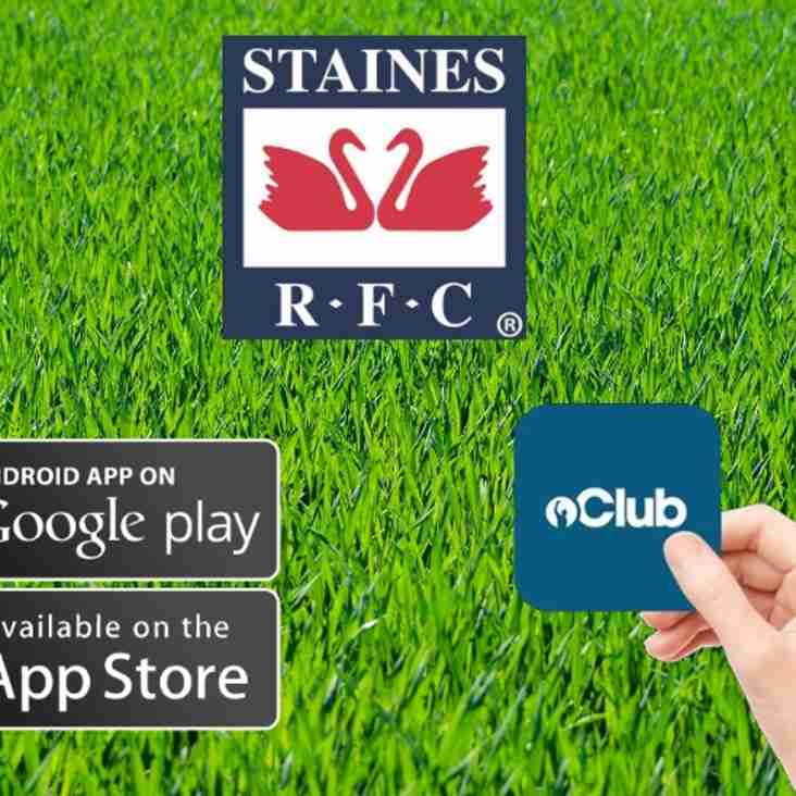 Staines Rugby launches new website