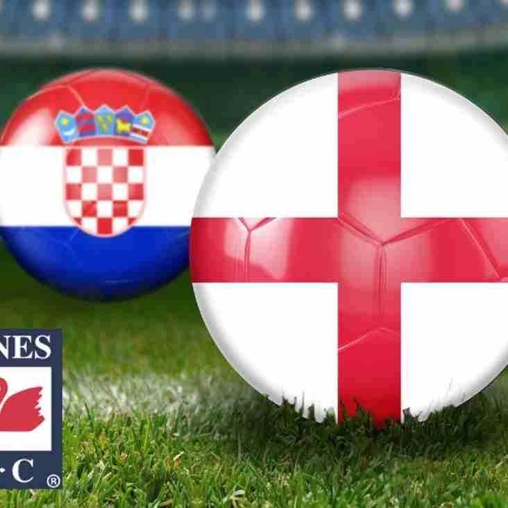 England v Croatia Semi Final World Cup