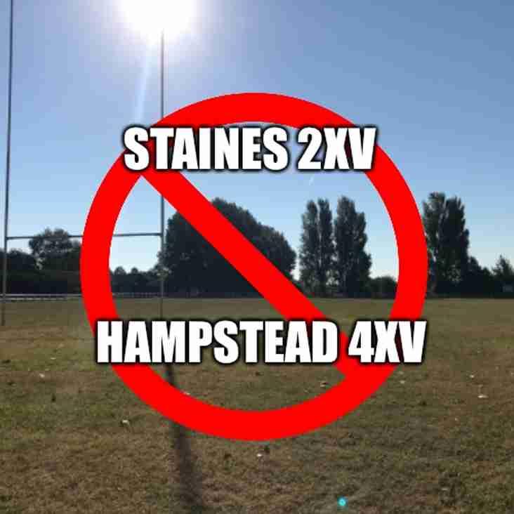 Cobs fixture v Hampstead off