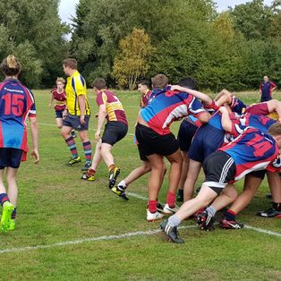 u16 go down fighting v Hampstead