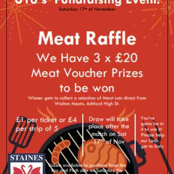 MEAT RAFFLE - your chance to win some Meat