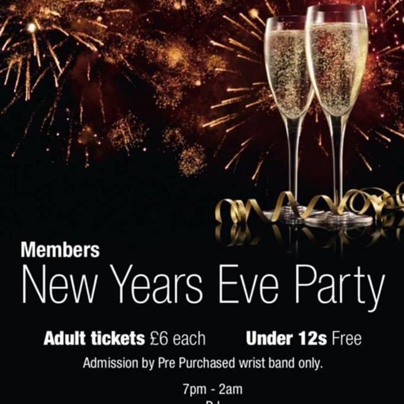 Members New Years Eve Party