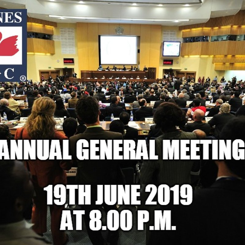 Annual General Meeting Agenda and Proxy form 2019