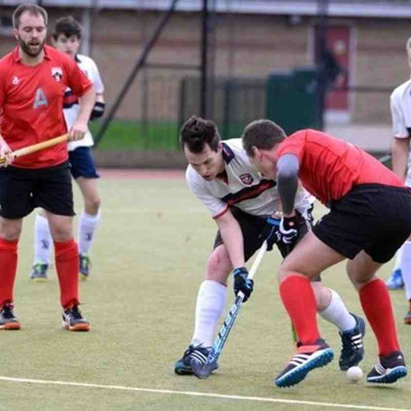 Men's 1's vs. Berkhamsted II - Saturday 5th Dec 2015