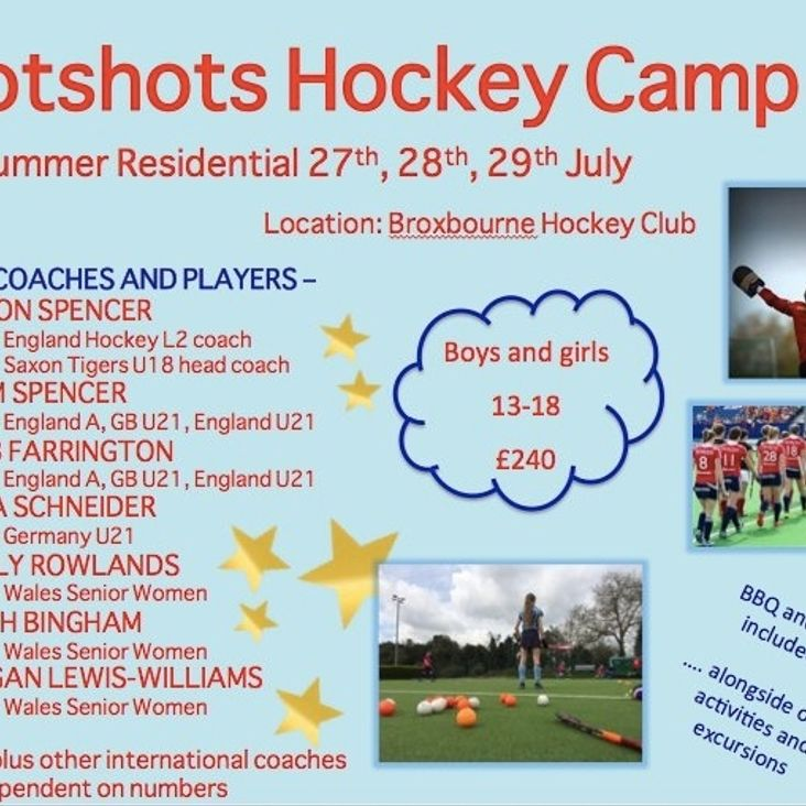 Hotshots Hockey Camp<