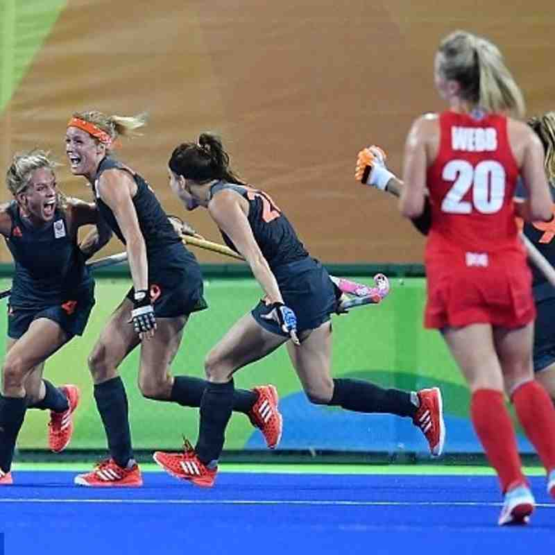 GB Ladies Hockey Gold