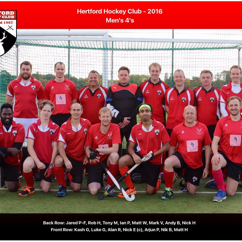 Hertford 4 vs. Shefford & Sandy 3