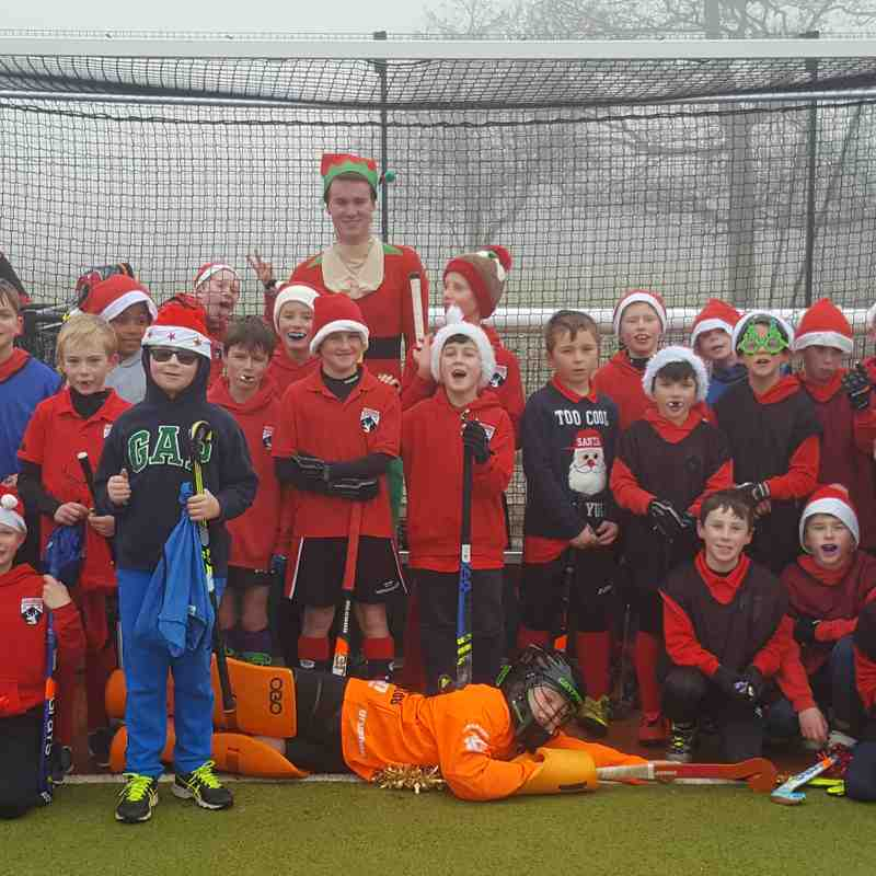 Xmas Training Youth 2016