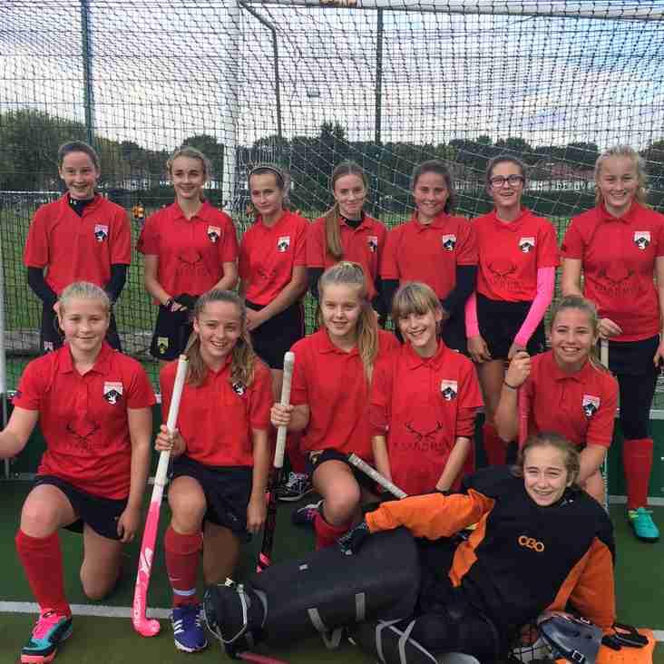 Hertford U14 Girls remain top in Home Counties Girls League