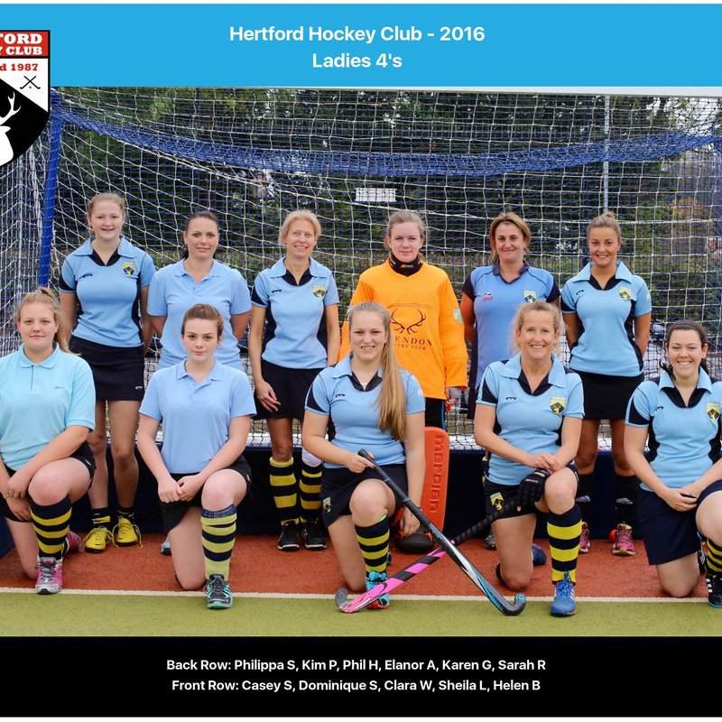 Hertford 4 vs. Welwyn 4