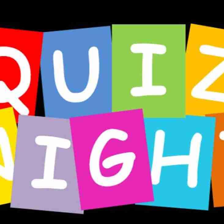 Youth Quiz Night - Saturday 4th March