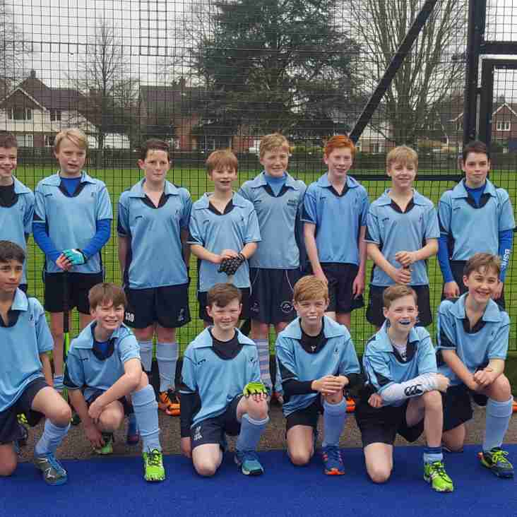Successful Day for Herts U13 Boys
