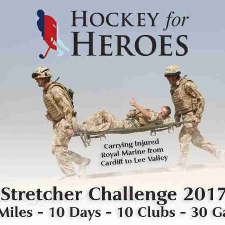 Hockey 4 Heroes Ops Stretcher Challenge 2017
