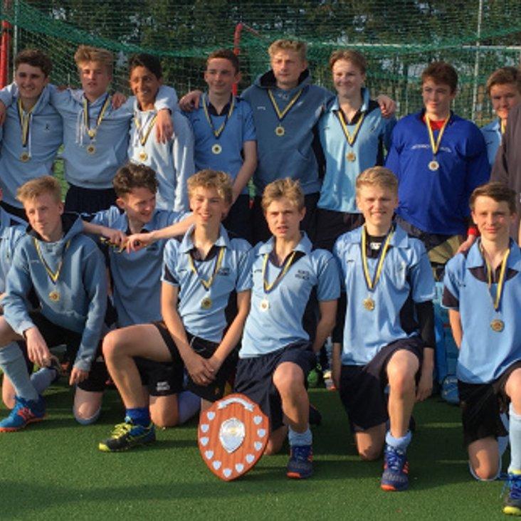 Success for Herts U15 Boys<