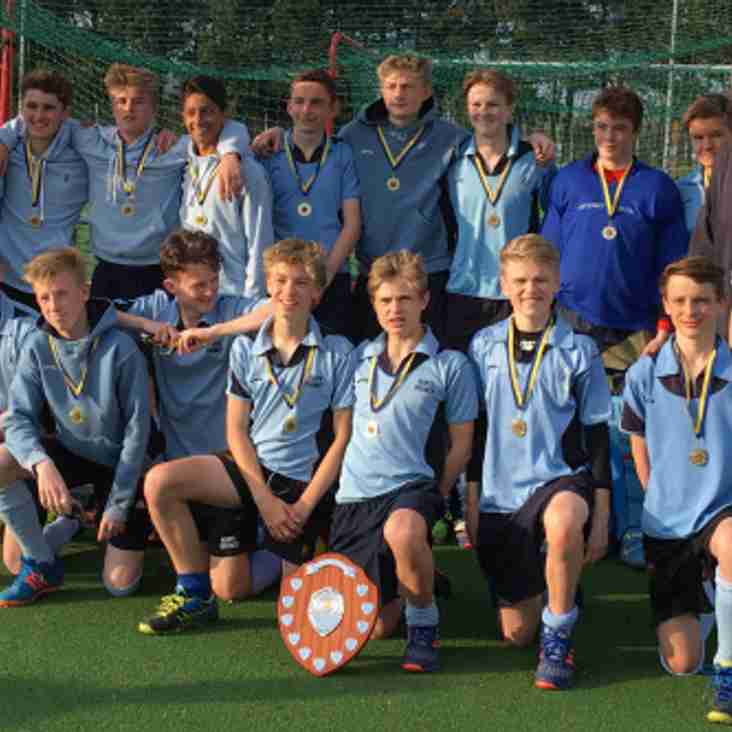Success for Herts U15 Boys
