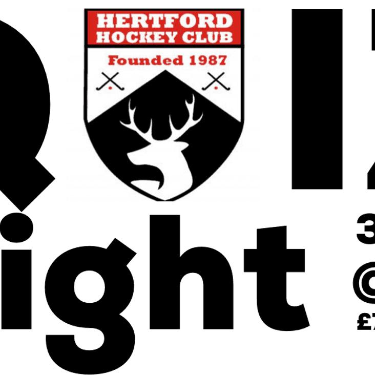HHC Quiz Night - Saturday 3rd February