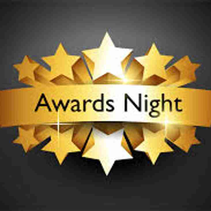Junior Awards Night - Friday 13th April
