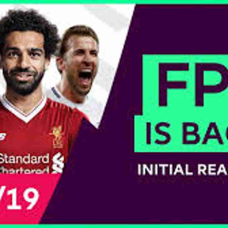 Fantasy Premier League is Back Again