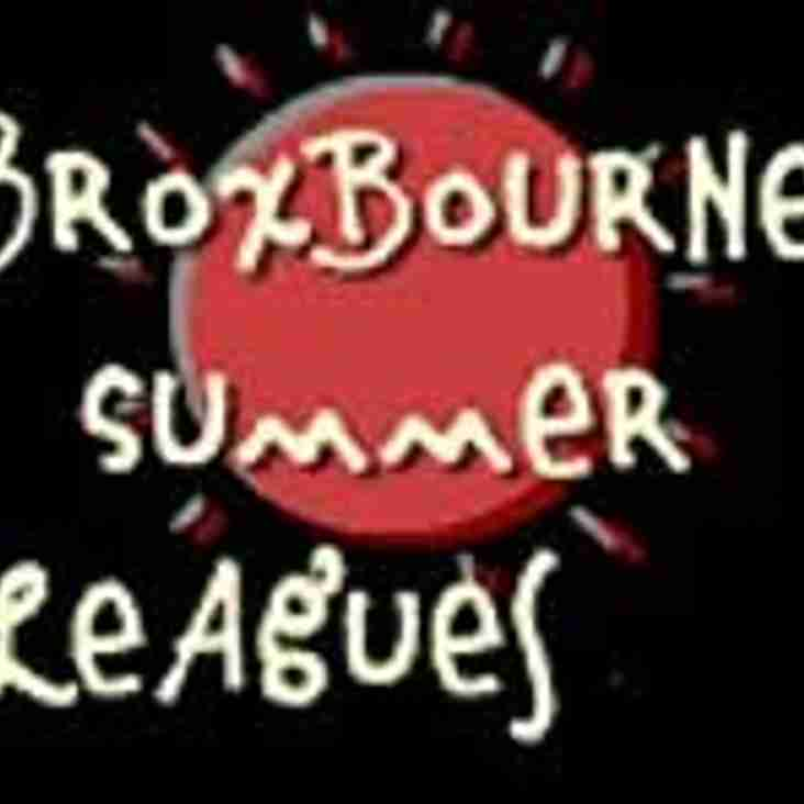 MORE BREAKING NEWS - Men's Summer Team Win Broxbourne Summer League