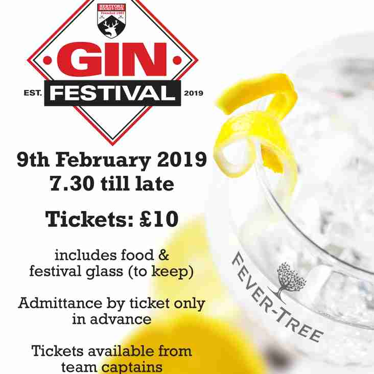 Gin Festival  - Saturday 9th February