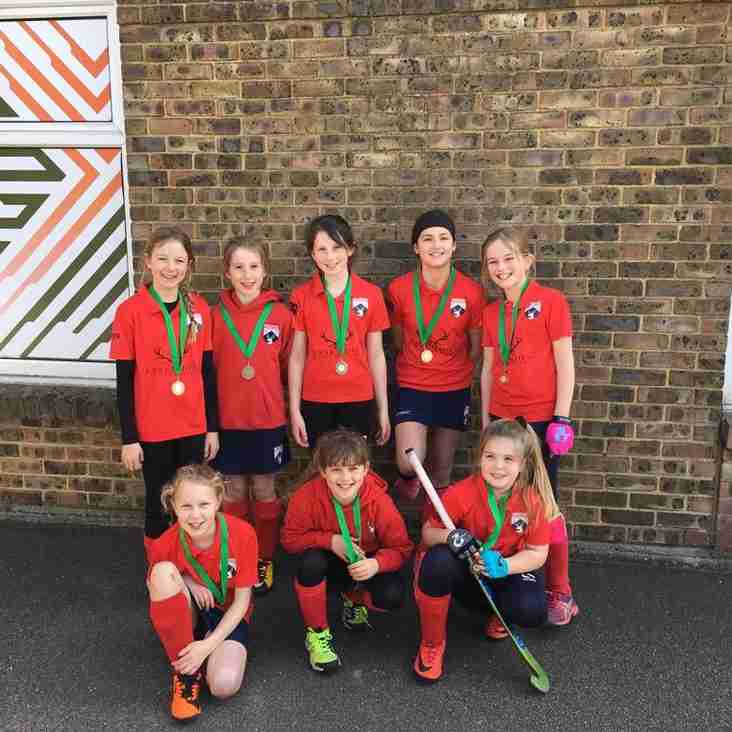 Hertford U10 Girls enjoy remarkable season