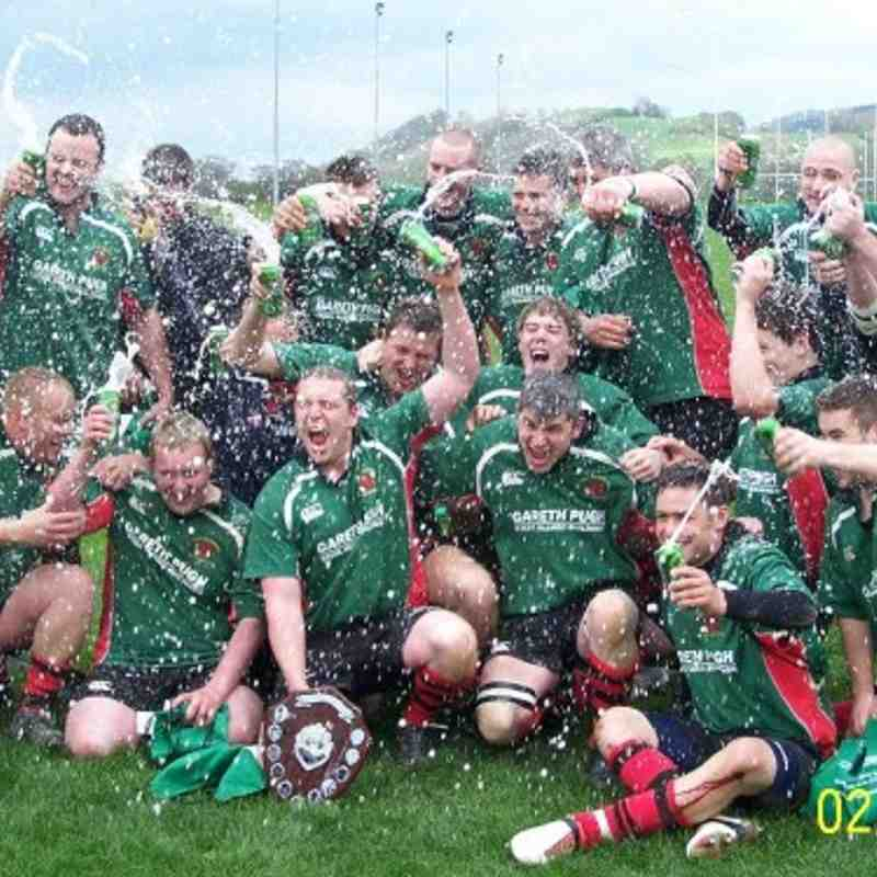 Mid Wales Shield Final - Newtown 2nds v Llanidloes 2nds (2nd May 2010)