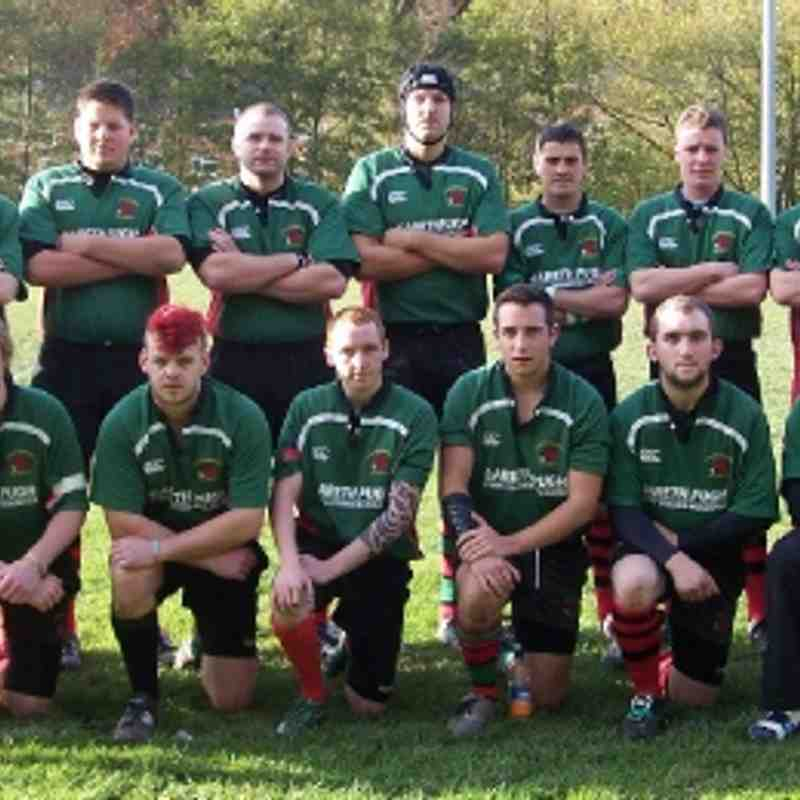 Green Army v Rhayader - 5th Nov 2011