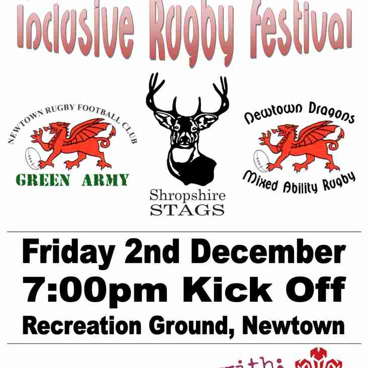Newtown RFC Inclusive Rugby Festival