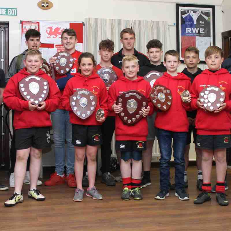Newtown RFC Junior Awards & Fun Evening 2017