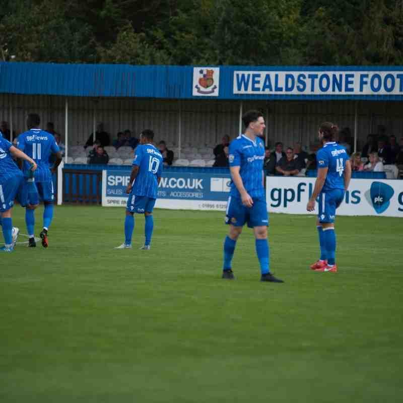 Truro City FC v Wealdstone FC (A) - 24th September 2016