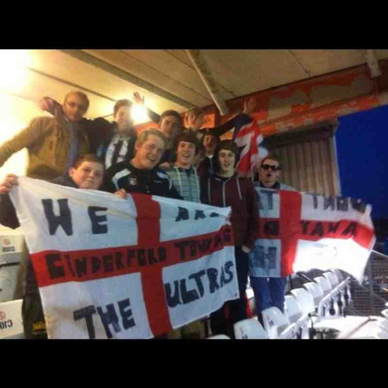 Cinderford Town Fans