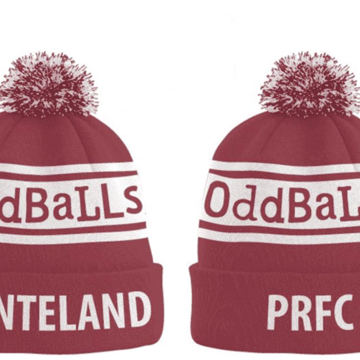 Ponteland RFC Oddballs Bobble Hats