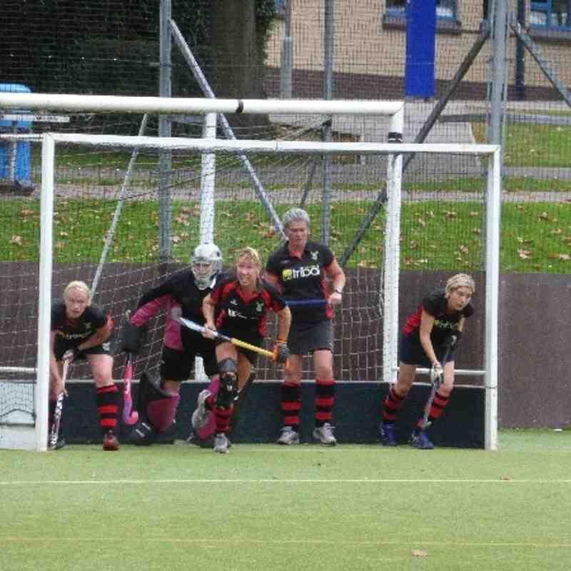 Ladies 2s vs Wanderers 5s 5th October 2013