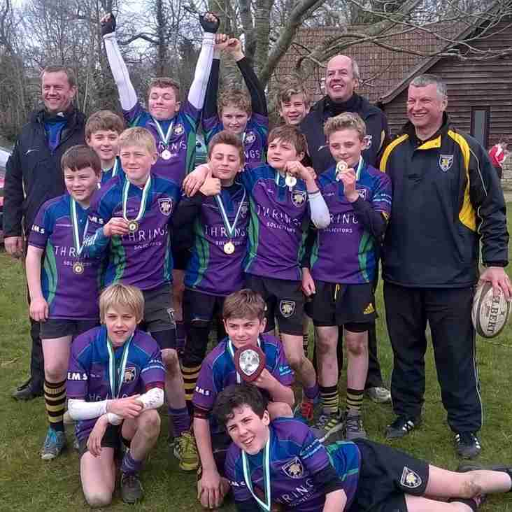 MRFC U12s secure place to represent Wiltshire at D&W Finals