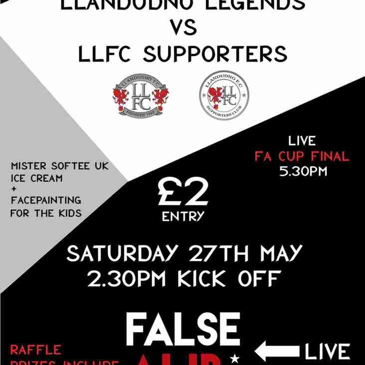Llandudno Legends vs Llandudno FC Supporters