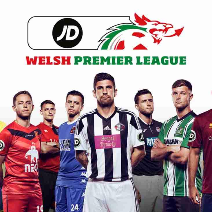 JD Announced As Welsh Premier League Headline Sponsor