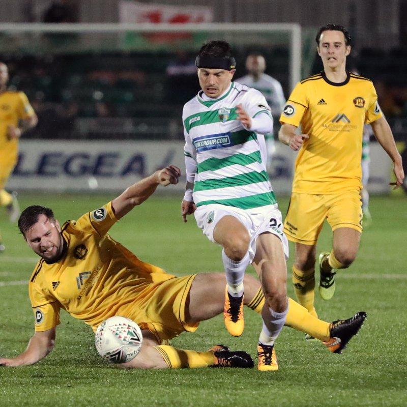 Narrow Defeat At Welsh Champions