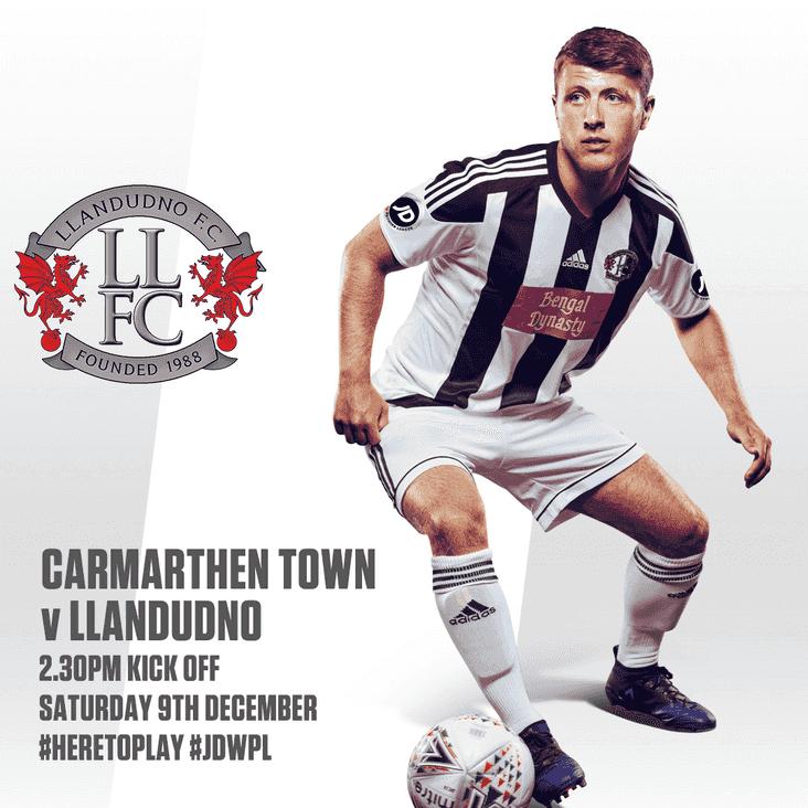Carmarthen Town vs Llandudno